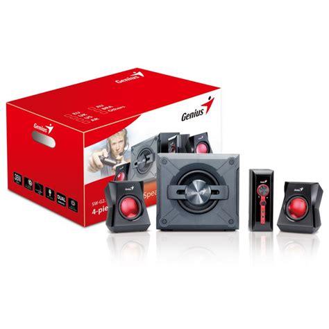 Speaker Genius Sw G 2 1 1250 genius reproduktory sw g2 1 1250 31730980100 agem