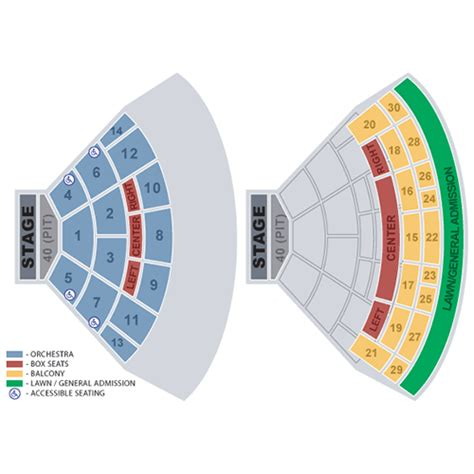 spac seating chart with numbers mayer vip concert experience for six at spac images