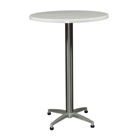 White Bistro Table Wci Iv Used 30 Inch Bistro Table White National Office Interiors And Liquidators