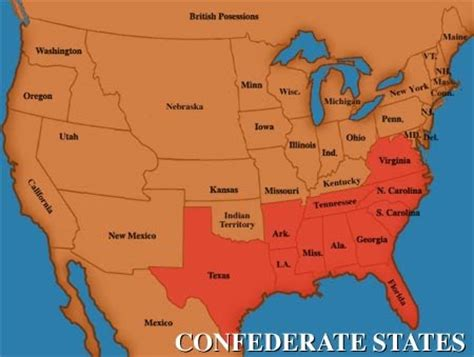 usa map confederate states murderous musings april 2010