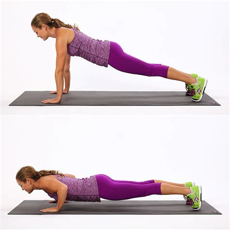 30 day push up challenge popsugar fitness