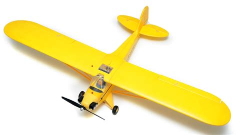 Hi Mm Yellow Airplane 2621 airfield 1400mm electric brushless 4 ch j3 remote
