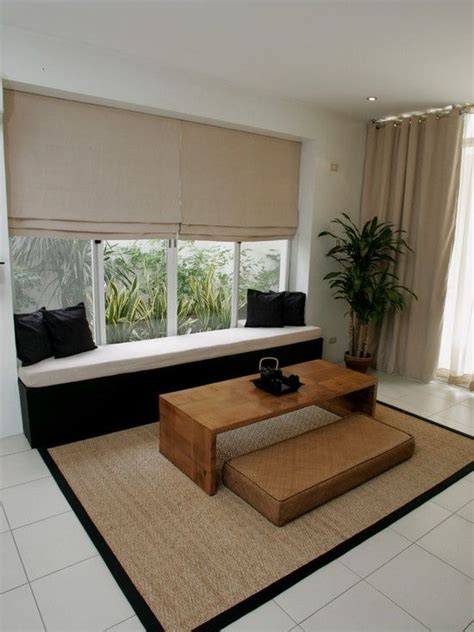 Kursi Tamu Area desain interior ruang tamu tanpa kursi yang cantik dan