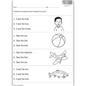 reading comprehension worksheets for grade 1