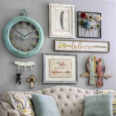 elegant country chic wall decor about my blog