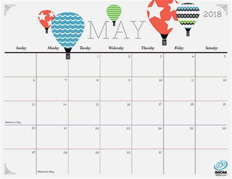 Calendar 2018 Printouts May 2018 Printable Calendar Free Printable Calendar 2018