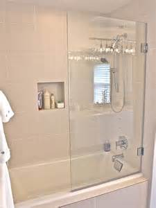 Bathtubs With Glass Shower Doors 1000 Images About Bathroom Remodel On Models Hair Styles And Colors