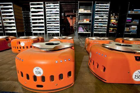 amazon robot amazon robots roam the warehouses operations and supply