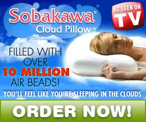 neck pillow as seen on tv sobakawa cloud stay cool buckwheat pillows infomercial