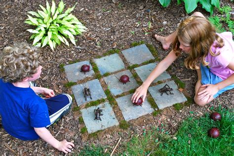 games for the backyard wonderful diy easy kids garden games