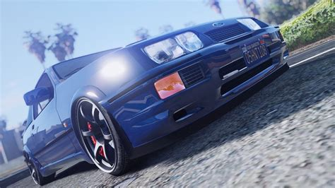 Exterior Doors 1987 ford sierra rs cosworth hq tuning gta5 mods com