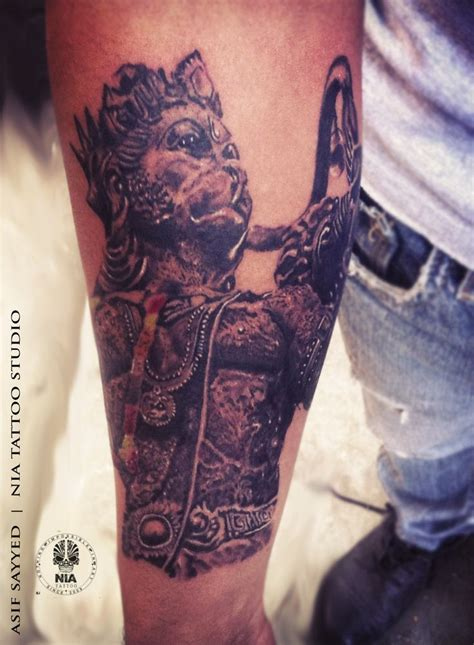 hanuman tattoo 17 best ideas about hanuman on trishul