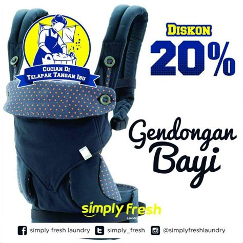 Gendongan Bayi Simple promo gendongan bayi 20 simply fresh laundry simply