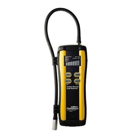 fieldpiece scl2 carbon dioxide leak detector at the test