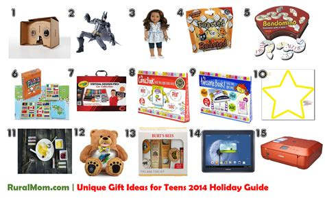 unique gift ideas for teens 2014 rural mom holiday guide