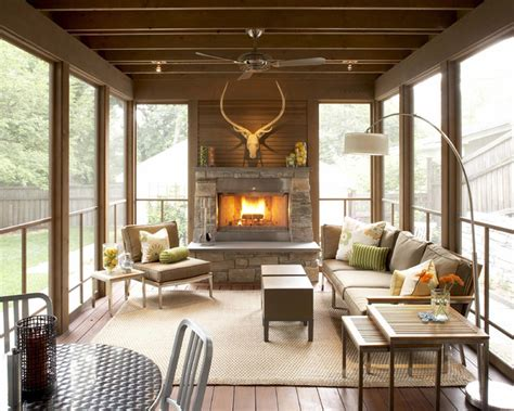 three season room ideas striking three season porch traditional porch minneapolis by trehus architects interior