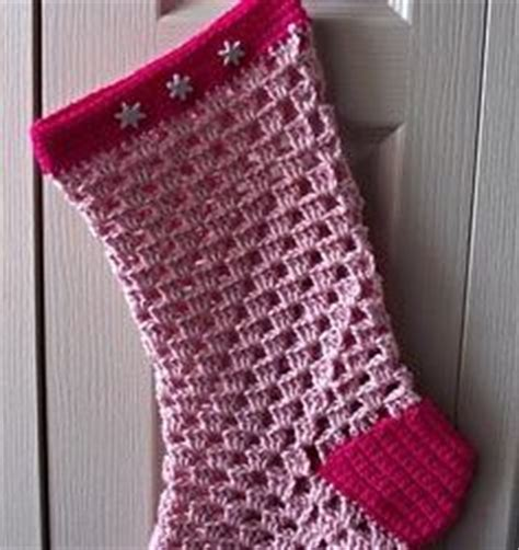 pattern for giant christmas stocking 40 all free crochet christmas stocking patterns patterns hub