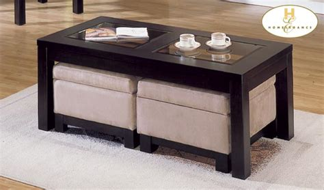 microfiber ottoman coffee table homelegance symphony cocktail table ottoman peat