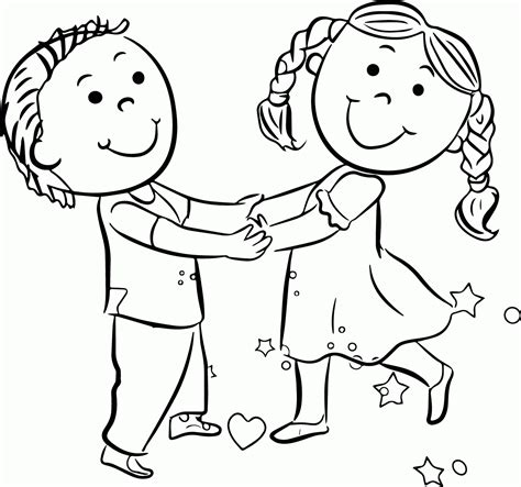 Childrens Coloring Page coloring page of a child coloring home