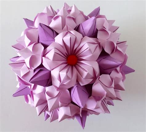 How To Make Paper Flower Petals - 5 petals origami flower 1 origami origami