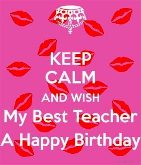 Happy Birthday Wishes To Lecturer 55 Birthday Wishes For Teacher