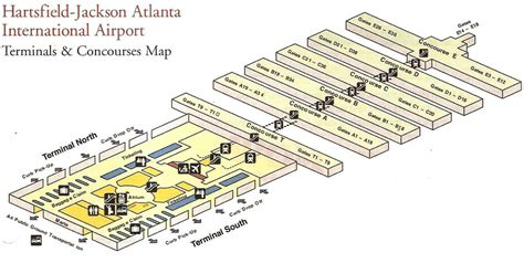 atl terminal map welcome to atlanta hartsfield jackson international airport
