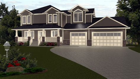 Storey House Plans With Bonus Room Over Garage Plans By Edesigns 1