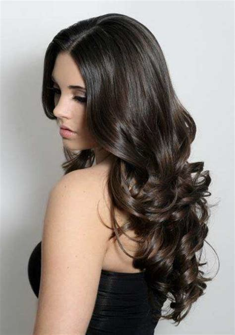 hair for slightly curly hair 25 beautiful haircuts for curly long hair long