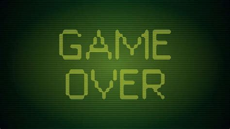 game over   The Tech Journal