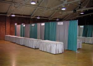 trade show pipe and drape rent everything for your next trade show expo booth rental