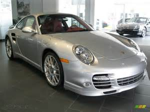 Porsche Silver Paint 2011 Porsche 911 Turbo S Coupe In Silver Metallic Paint To