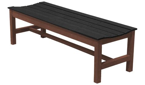 old world bench easycare old world imperial backless bench