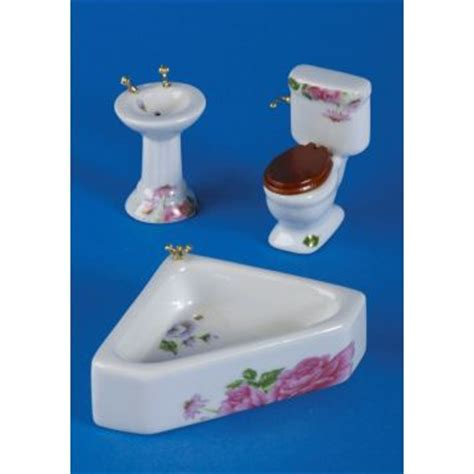 ross bathroom sets stewart ross 3 pc porcelain bathroom set vf1176