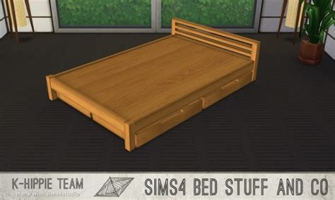 4 bed frame 5 muji bedframes nihon serie volume 2 at k hippie 187 sims 4
