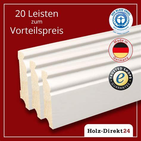 Hamburger Leiste Ecken by 20st 48m Massivholz Fu 223 Leisten Hamburger Profil Wei 223