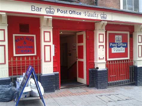Post Office Bar post office vaults bar birmingham