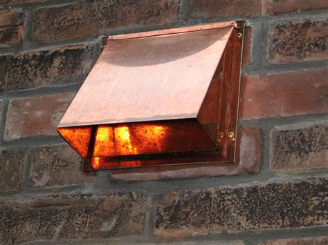 attic fan vent cover appealing hammered copper vent hood for roof vent