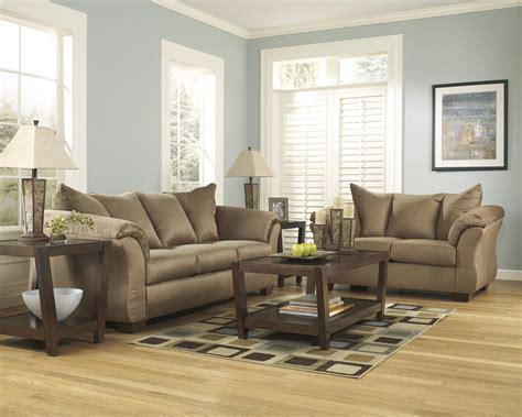 upholstered living room furniture darcy upholstered living room set by ashley furniture