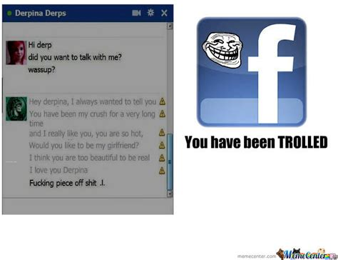 Facebook Troll Meme - troll facebook by dzajko meme center