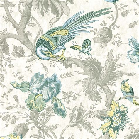 crowe hall lane paradise bird print wallpaper