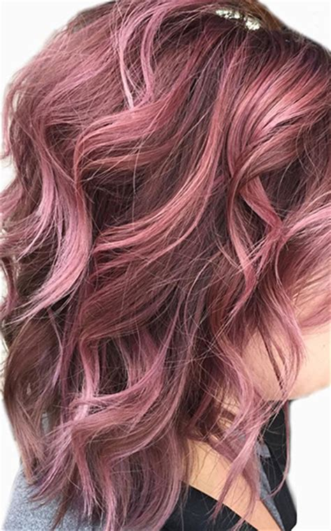 rose gold hair color 2016 fall winter hair color trends guide simply organic