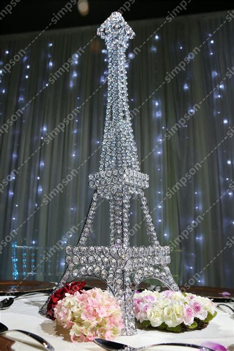 pcs  shipment candelabra centerpiece eiffel tower