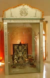 Interior Design Temple Home Sakhi Pooja Cabinets Pooja Mandapam
