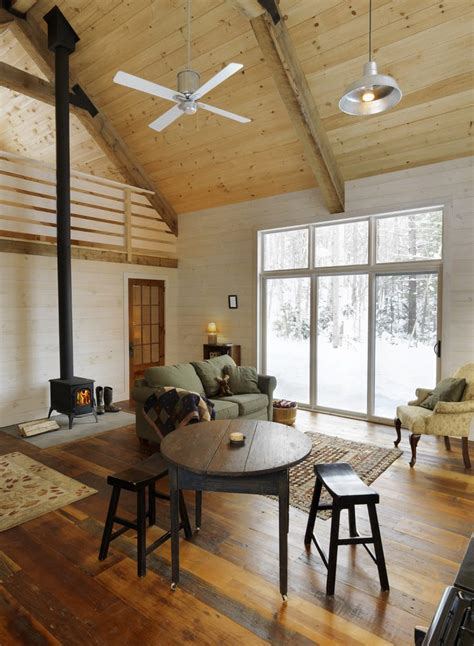 double height ceiling rustic cabin living room ideas living room rustic with