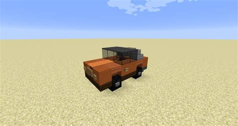 minecraft car that detail small car minecraft minecraft