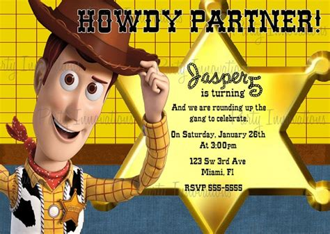 story birthday card template woody birthday invitation ideas bagvania free