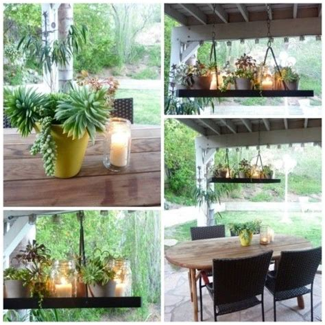 1000 images about chandelier outdoor diy on