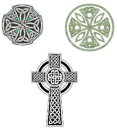 circle cross tattoo celtic cross tattoos i like top right but want it to be