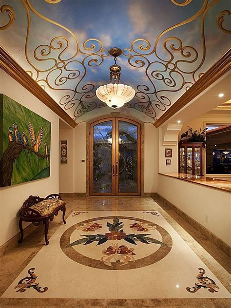 Contemporary Wall Murals Interior 44 best luxury foyers images on pinterest foyer design