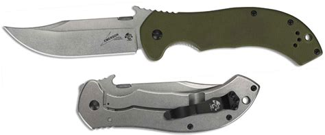 emerson cqc 10 review kershaw emerson 6030 cqc 10k knife emerson wave clip point